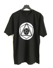 BLACK SCALE Penta Hex Cotton T-Shirt Size L Made In USA  🇺🇸