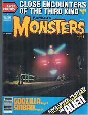 Famous Monsters of Filmland #141 Godzilla Close Encounters Sinbad 1978
