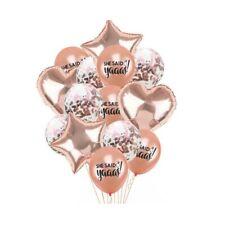 21pcs She said Yaaas Balloons Bachelorette Party Decoration wedding supply