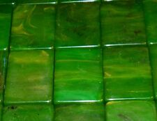 vtg BAKELITE Chinese MAH JONG jongg 135 tiles Butterscotch/Swirl Green 2 Tone