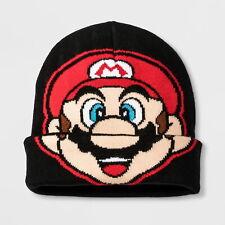 NEW Boys' Nintendo Super Mario Cuffed Beanie