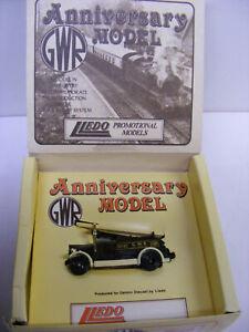 Lledo Days Gone Promotional Model Dennis GWR Fire Engine Brown NIB