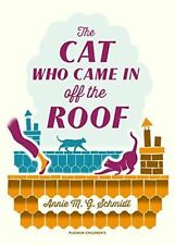 The Cat Who Came in Off the Roof-ExLibrary