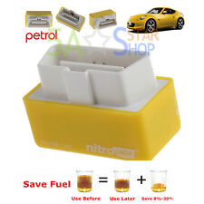Universal Petrol Nitro OBD2 Performance Chip Tuning Box Plug & Drive Cars ECU US