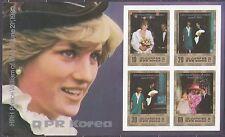 KOREA Pn. 1982 MNH** SC#2235/36 Sheet set, Birth of Prince William of Wales.Imp.