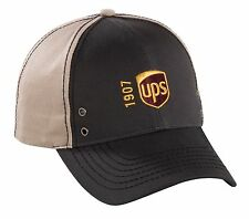 UNITED PARCEL SERVICE Metal Eyelet Tan & Olive Cap Hat 100% Cotton NEW 2016