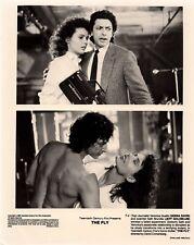 Jeff Goldblum   Geena Davis THE FLY(1986) Original press release photo