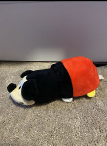 """DISNEY Mickey Mouse & Minnie Mouse  FLIP A ZOO 5-1/2""""  by Jay Play Plush Toy"""