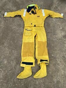 Musto HPX Gore-Tex Ocean Drysuit MEDIUM Sailing Suit Boat Rescue Army Surplus