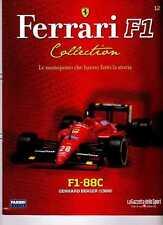 § FERRARI F1 Collection # 12 - F1-88C - 1988  Gerhard Berger - Booklet Fascicolo