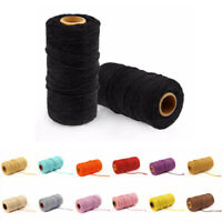 Handmade Bakers DIY Rope Twine String Cotton Cords Packing Craft Projects