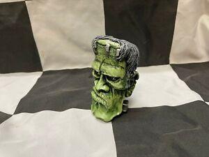 shift knob Van Chase Frankenstein green hot rod kustom chevrolet ford