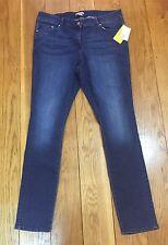 H&M Ladies Skinny Stretchy Jeans Plus Size 20 22 L 31 Dark Blue Faded Wash BNWT