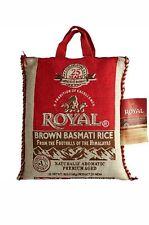 Royal BROWN Basmati Rice 10 Lbs bag , sealed, Non-GMO, Indefinite Shelf life.