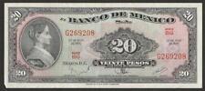 1970 MEXICO 20 PESO NOTE