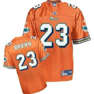 Miami Dolphins Ronnie Brown #23 Jersey, Men's, Size X-Large +2 A1 3012