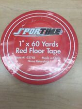 Sporttime Red Floor Tape - Great Savings!