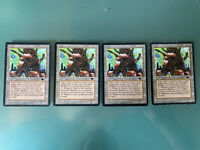 4 Spring Mishra's Factory Antiquities Magic The Gathering Heavy Played MTG Rare