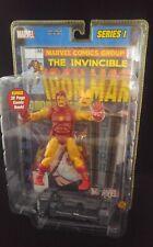 Iron Man Marvel Legends Series 1 Toy Biz MIP 2002 Comic Book  Avengers