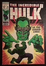 HULK #115  VF+ WH/OW pgs, LO, THE LEADER LIVES! ORIGINAL OWNER! GORGEOUS BOOK!