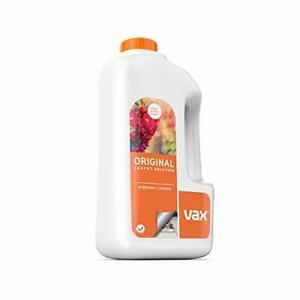 Vax AAA Original Everyday Cleaning Carpet Shampoo Solution 1.5L Bottle