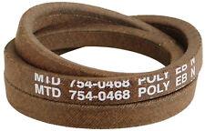 Genuine MTD Mower Belt - 954/754-0468 Troy-Bilt B809H Super Bronco 1999 & After