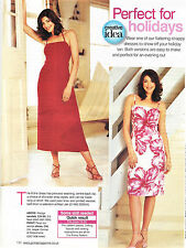 STRAPPY HALTER NECK A-LINE DRESS Summer Prima Sewing Pattern 10 12 14 16 18 20