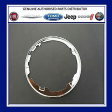Genuine New Fiat 500 gear lever gaiter Chrome effect  base ring - 71775055