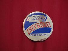 1949 – 1954 CHEVROLET TRUCK HEATER DEFROSTER RECIRCULATION DECAL