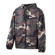 Men's Lightweight Camo Pattern Quick Dry Soft Outdoor Performance Jacket XLarge