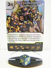 Dice Masters - 1x #102 Nova Corps Uniform a simbolo of order FOIL-Guardians of