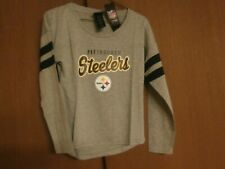 Pittsburgh Steelers girls long sleeve top size Medium (10/12) Brand New