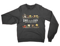 Lord of the Cats SWEATSHIRT funny Lord of the Rings cute cat present gift
