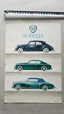 Lancia Aurelia Berlina - GT -Cabriolet depliant originale ITALIANO brochure