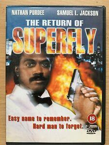 Return of Superfly DVD 1990 Blaxploitation Movie Sequel w/ Samuel L. Jackson