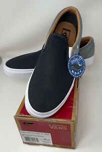 NEW with box Vans Mens Classic Slip-On Skateboarding Sneakers Casual Shoes M 13