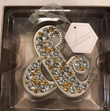 Hallmark Signature Ampersand Jeweled Ornament Or Wedding Decoration NIB