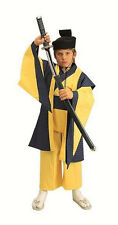 Samurai Child Costume RG Costumes Halloween Sz S 4-6 Cosplay Japanese Kimono