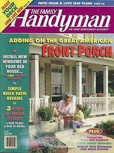 The Family Handyman Magazine - DIY Projects The American Front Porch April 1995