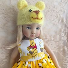 Dianna Effner Little Darling My Meadow Avery Pooh Dress Ensemble Hat Outfit
