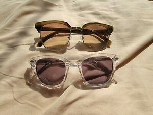 Two J. Crew Sunglasses Unisex