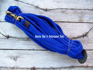 Lunge Line - Pro Cotton - 24 Ft (Royal Blue)
