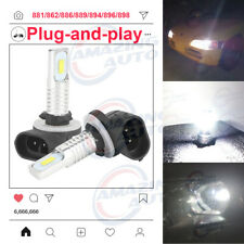 881 886 889 894 896 898 LED Fog Lights Bulbs Upgrade Kit 30W 3000LM 6000K White