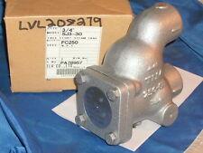 "TLV SJ3-30 FLOAT STEAM TRAP FC250 CAST 3/4"" NPT 250 PSIG"