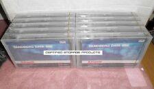 NEW 10PK Tandberg Data 431647 Tape Cartridge MLR3 SLR50/MLR3 25GB/50GB 12096 LOT