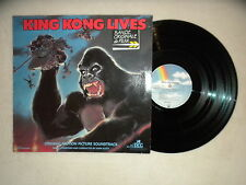 "LP JOHN SCOTT/GRAUNKE SYMPHONY ORCHESTRA ""King Kong Lives"" MCA 254 672-1 BOF §"