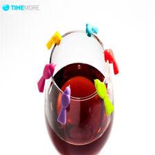 6 pcs/Set Wine Glass Marker Bird Label Party Wine Glass Bottle Drink Cup Marker