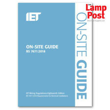 IET 18th Edition On Site Guide Wiring Regs Requirements Electrical Installation