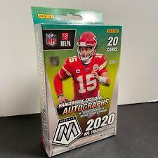 2020 Panini Mosaic NFL Football Hanger Box Walmart Exclusive Reactive Orange