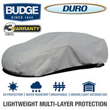 Budge Duro Car Cover Fits Sedans up to 19' Long | UV Protect | Breathable